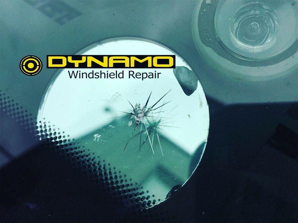 windshield rock chip