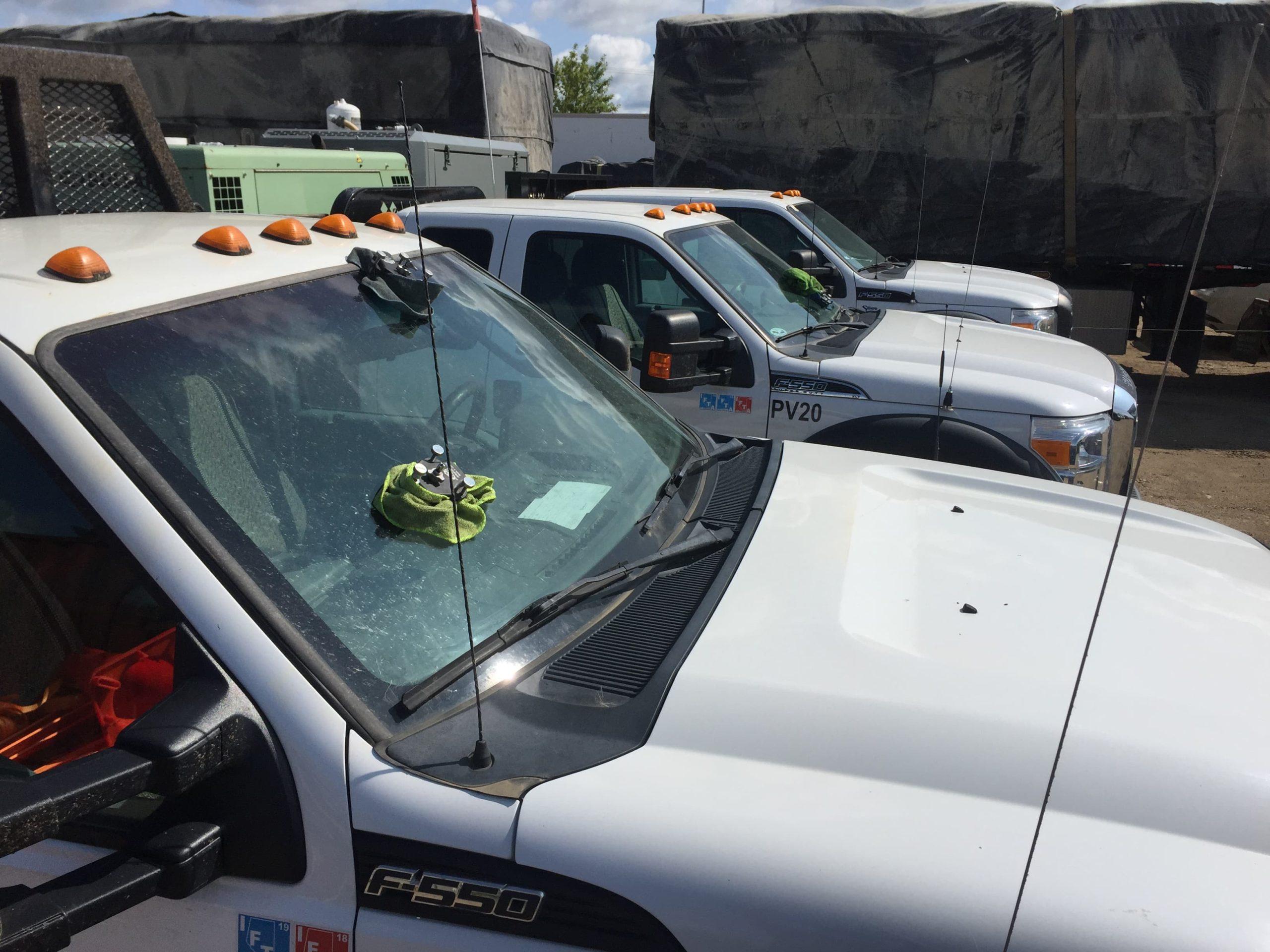 commercial fleet windshield repairs