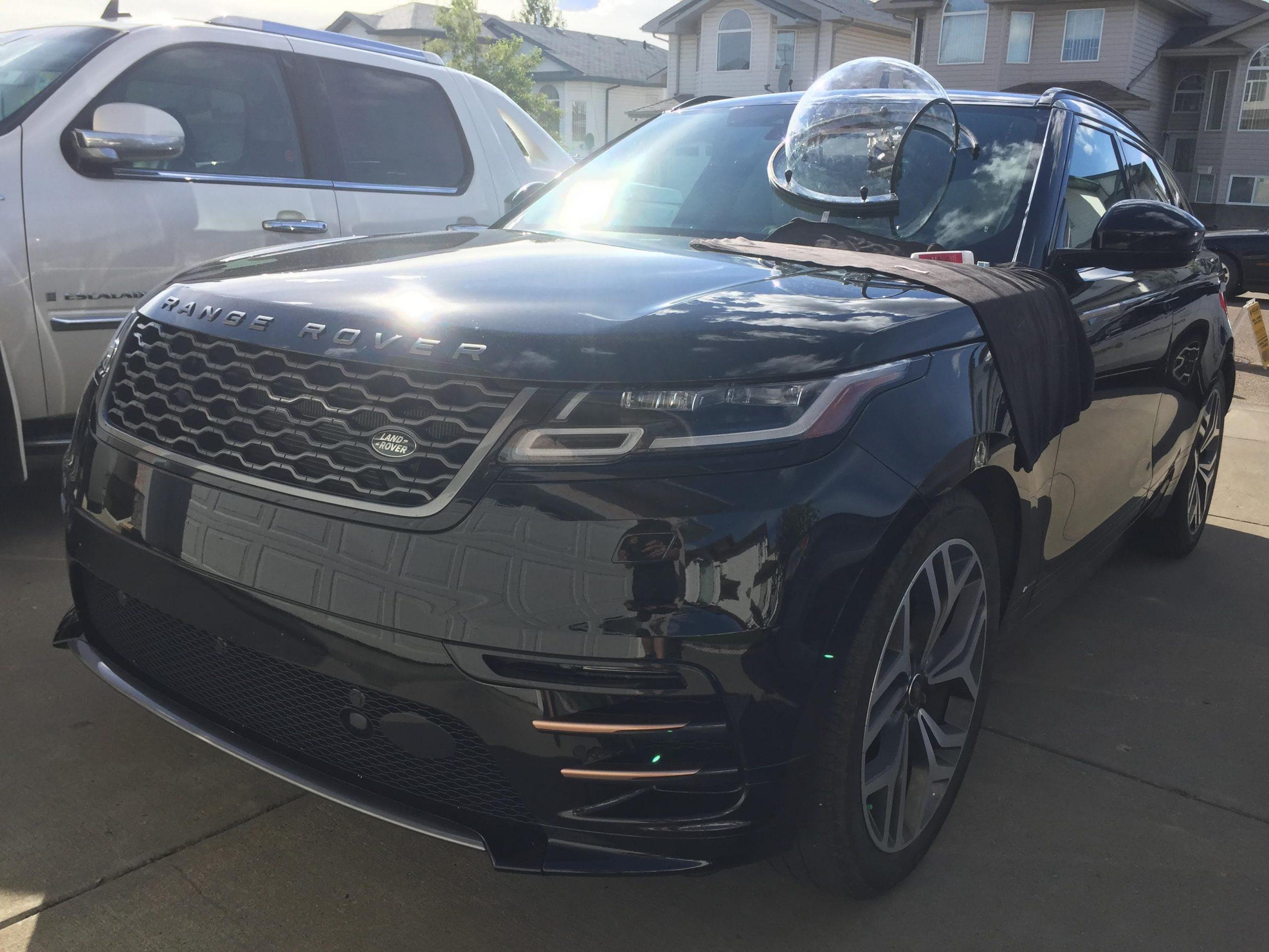windshield repair black range rover evoque