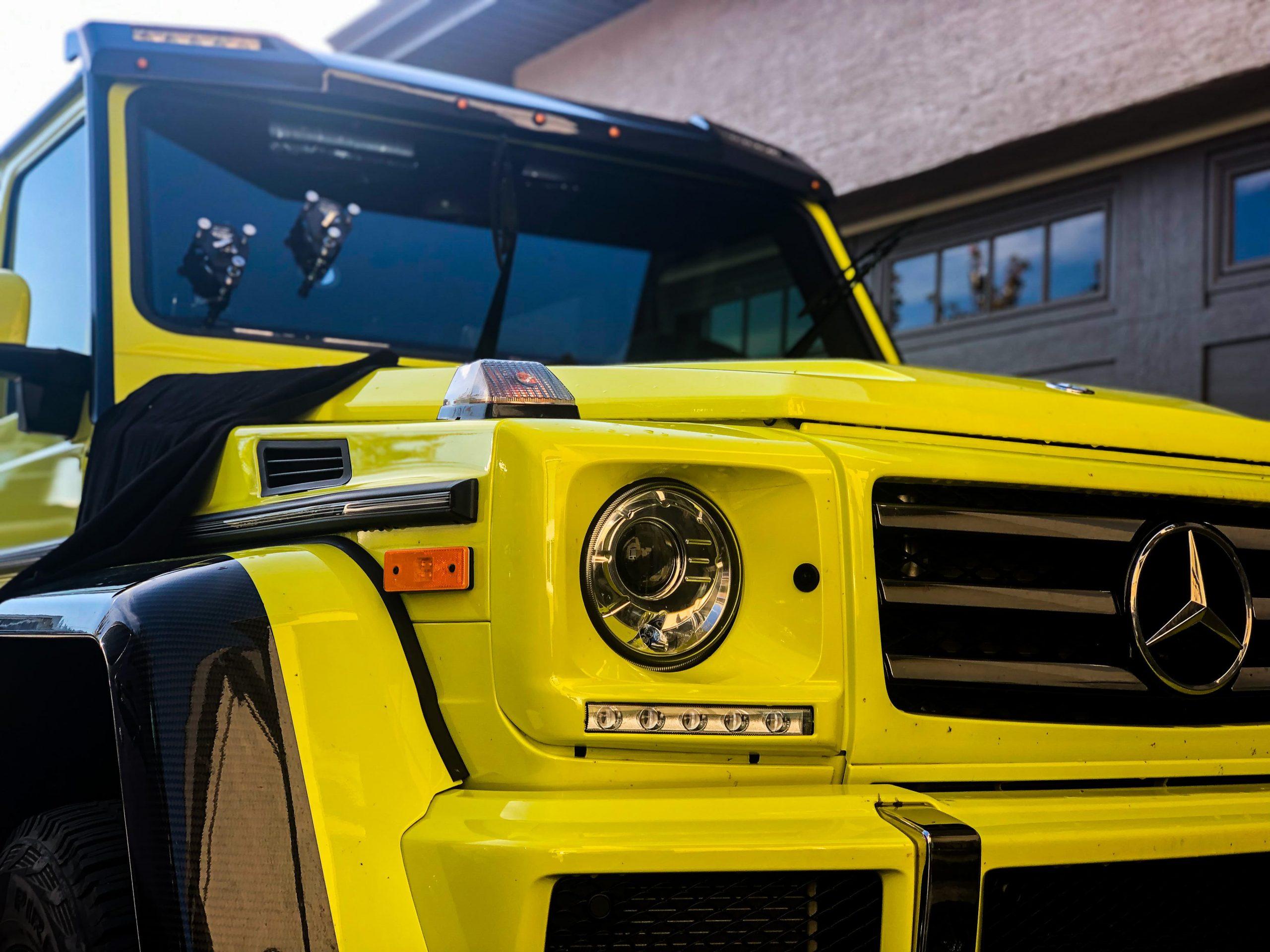 mercedes-benz g550 - windshield repair